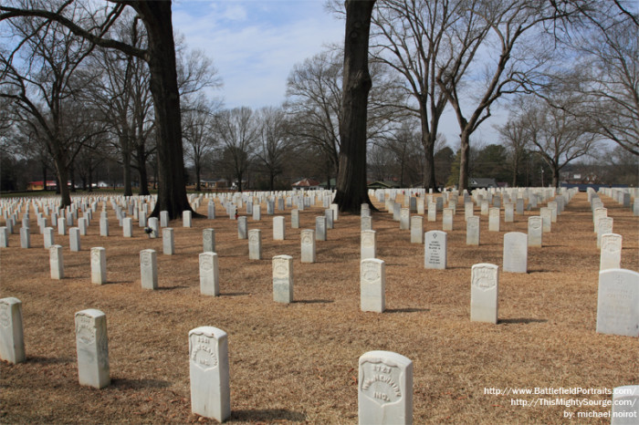 3. Corinth National Cemetery