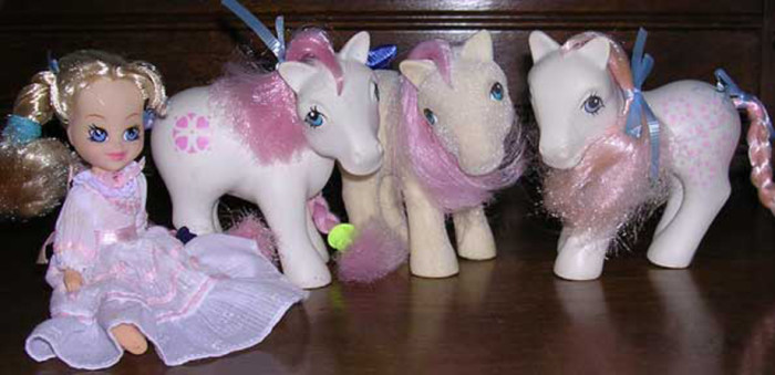12. My Little Pony - It had to be the design on the rumps that was so fascinating.