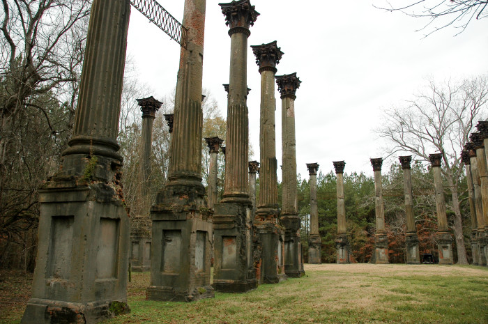 3. The Windsor Ruins, Port Gibson