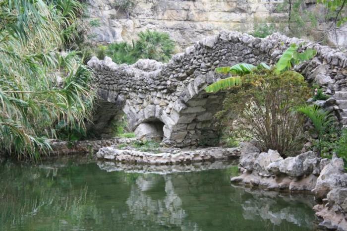 9) Sunken Gardens in Brackenridge Park (San Antonio)