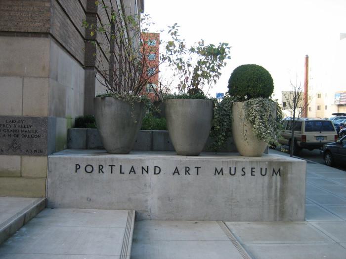 13) Portland Art Museum
