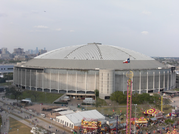 4) The Astrodome in Houston is a secret NSA listening post.