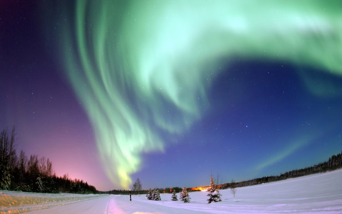 3) The Northern Lights