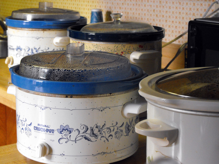 8. Crock pots...because who wants to heat up the entire house to cook! Slow cooking is the way to go during the hotter days of the year.