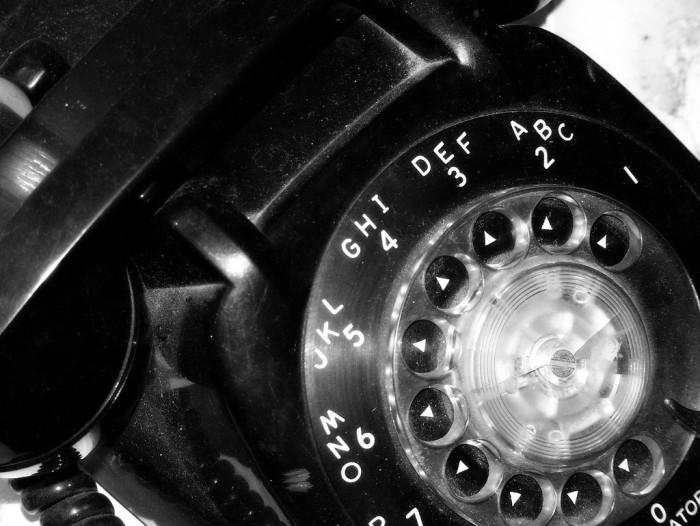 2. Rotary phones! Do young people know what these are? I have to confess that I kind of miss them and their 'sawing' sound.