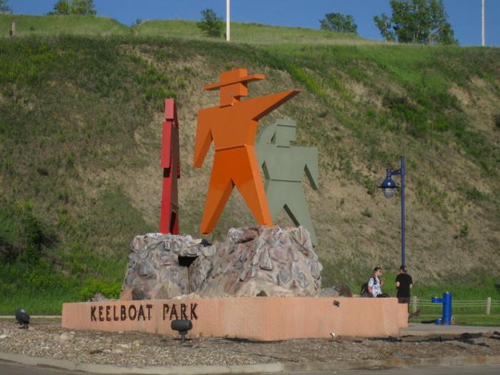 4. Keelboat Park - Bismarck, ND