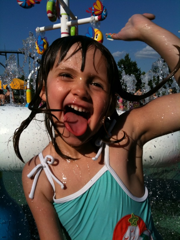 7) Go to a waterpark