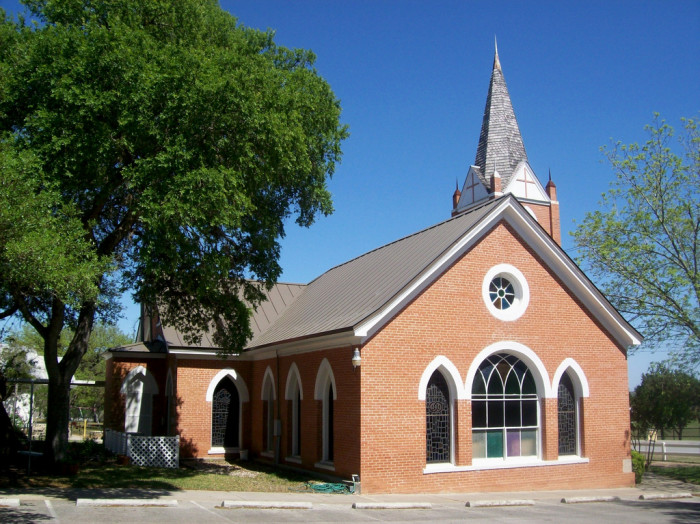 11) Churches...you won't go too far without seeing one, especially in the smaller towns.
