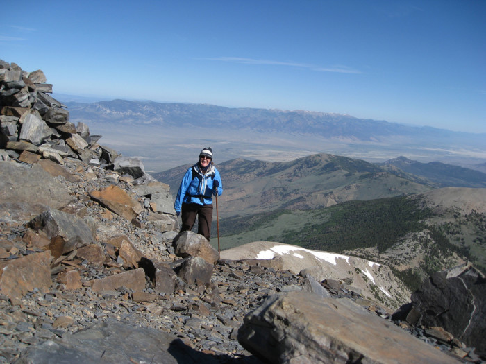 2. You've hiked one of Nevada's many AMAZING mountains.