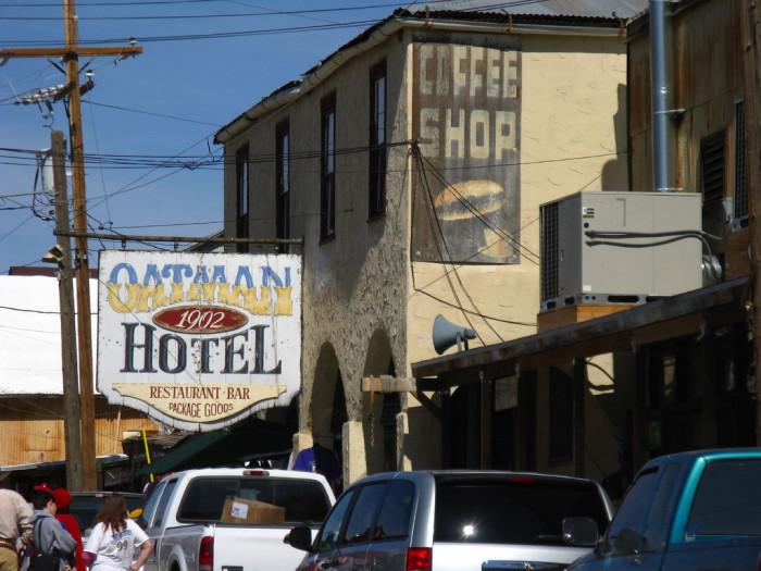 15. Oatman Hotel, Oatman