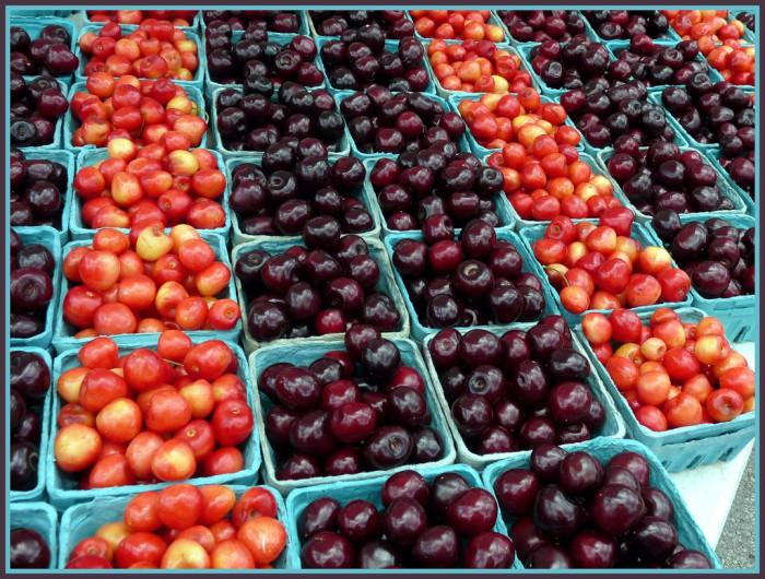 6) Eat freshly-picked Michigan cherries