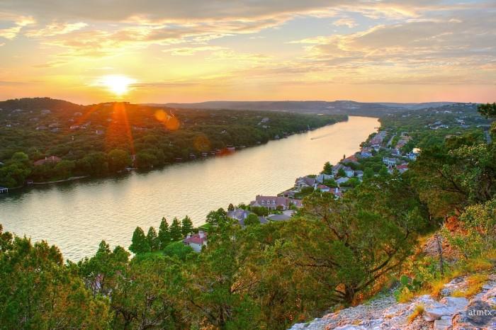 1) Mount Bonnell (Austin)