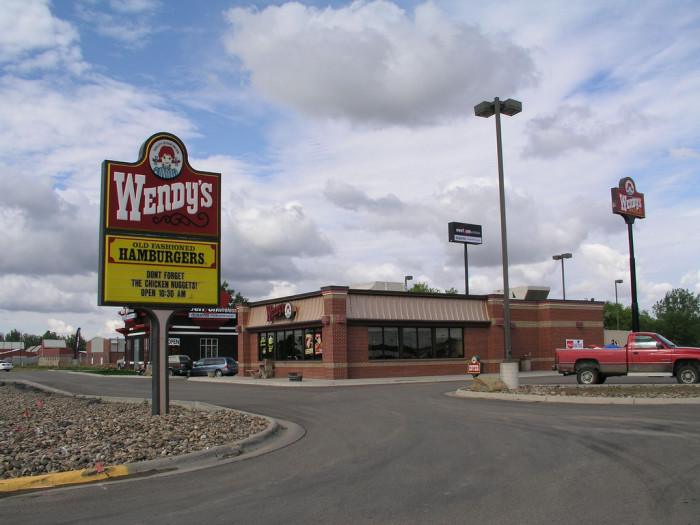 5) When you're driving through other states and you have to stop for food and you'd honestly rather have Wendy's or Bob Evans instead of In-N-Out Burger or Denny's.