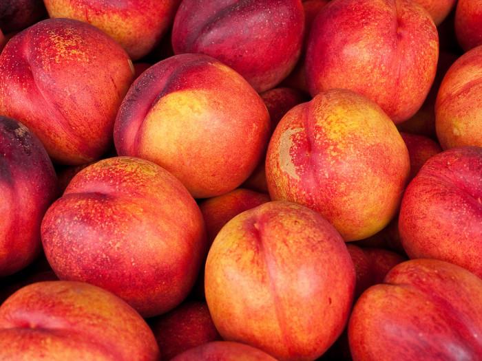1) Peaches