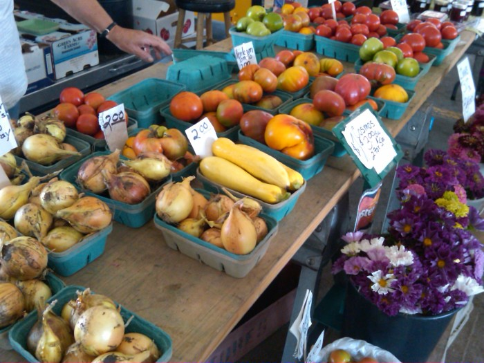 3. Head to the Minneapolis Farmer's Market and see the flowers. Hint: go in to the cooler... stay.