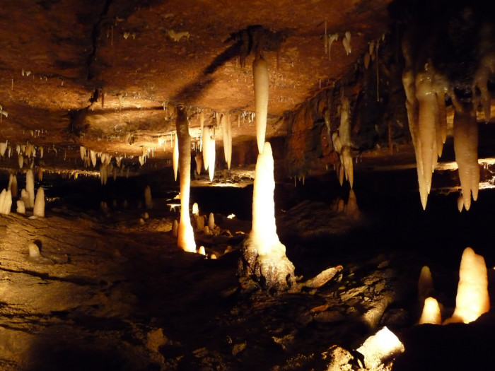 10) Explore the Ohio Caverns, (located in West Liberty) or the Seneca Caverns, (located in Bellevue) to escape the sun's rays and release your inner adventurer.