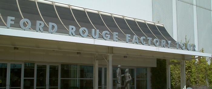 8) Take a Ford Rouge Factory Tour