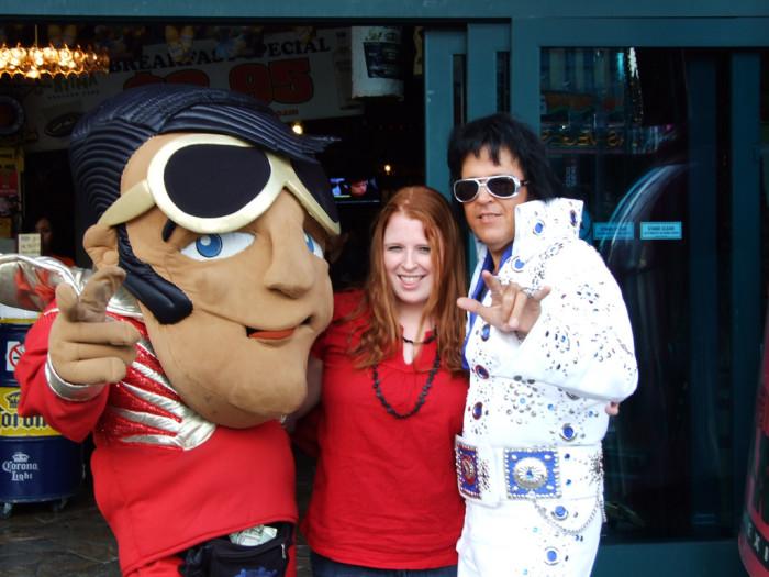 3. You've met Elvis. Well, sorta.