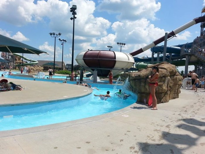 3. Cascade Falls Aquatic Center