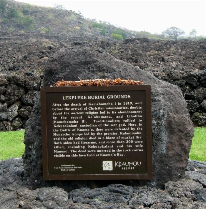 4) Kuamoo Burials
