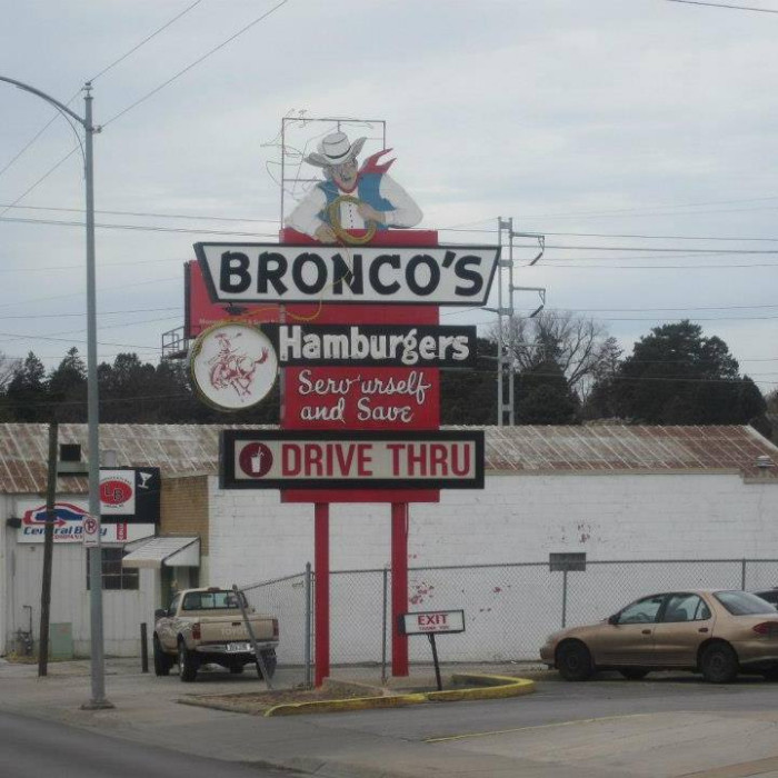 Bronco's Hamburgers, Omaha
