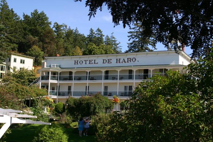5. Hotel de Haro, Roche Harbor, San Juan Islands
