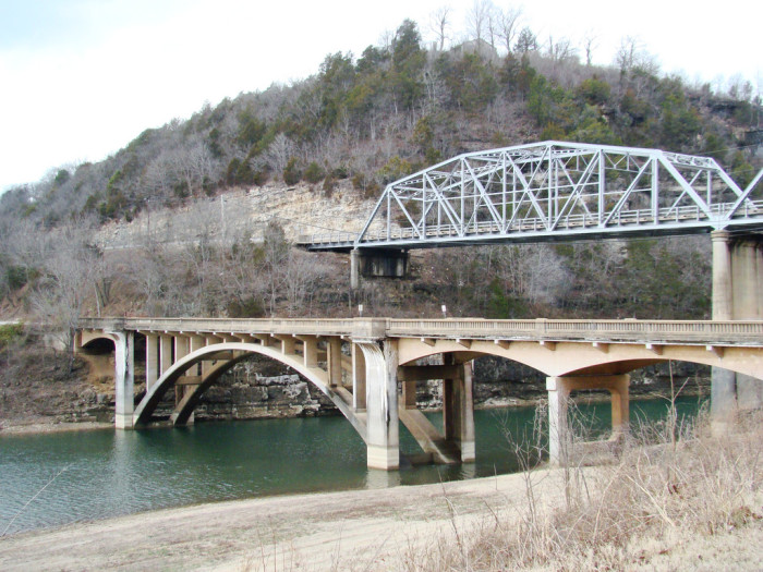 4. Forsyth, Two Old Bridges