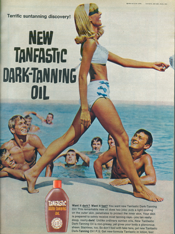 9. Tanning oil and/or sunblock. I'm a sunblock girl myself and, yes, this is the brand I use and I usually go for the 100% variety.
