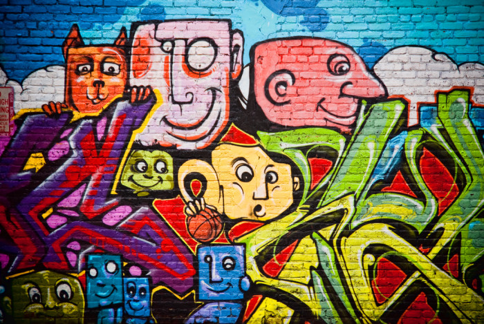 2. Another Jersey City mural, I love the fun colors and cheerful vibe.