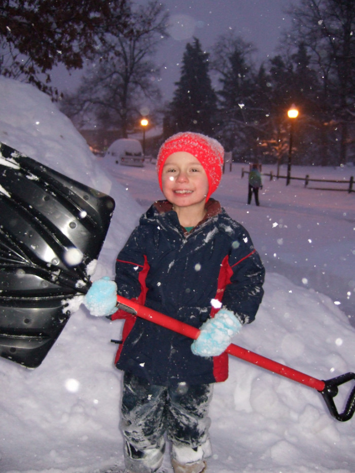 A Sturdy Snow Shovel