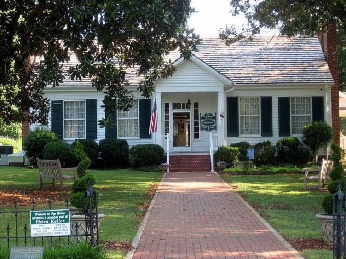 4. Helen Keller Home - Tuscumbia, AL