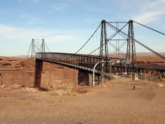 1. Cameron Suspension Bridge