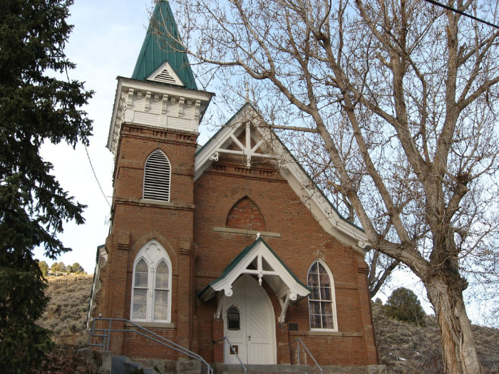 6. St. George's Episcopal Church in Austin, Nevada.