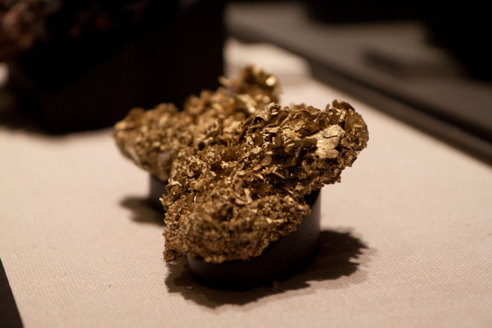 Gold nugget from Grass Valley, CA