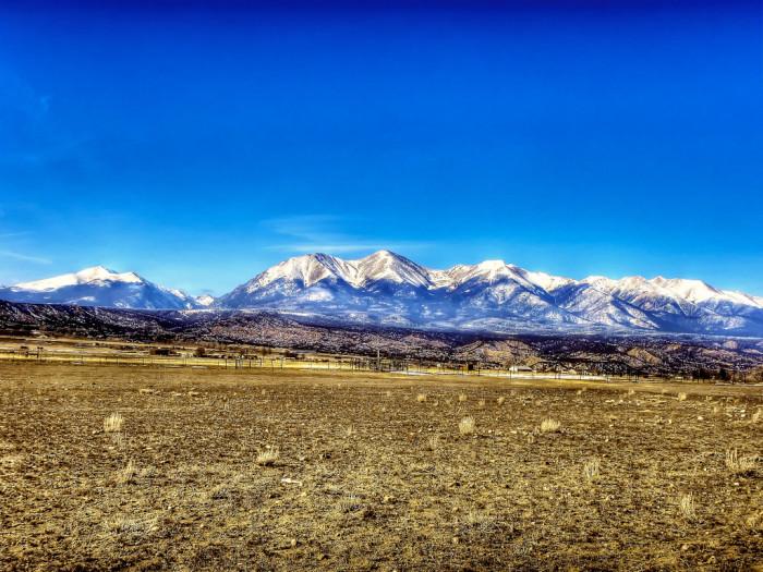 14.) Tabeguache Peak, Mounts Shavano & Antero