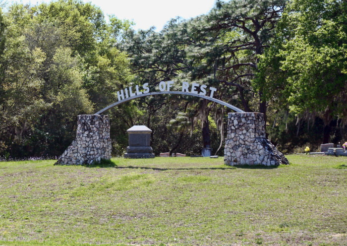 10.  Hills of Rest Cemetery