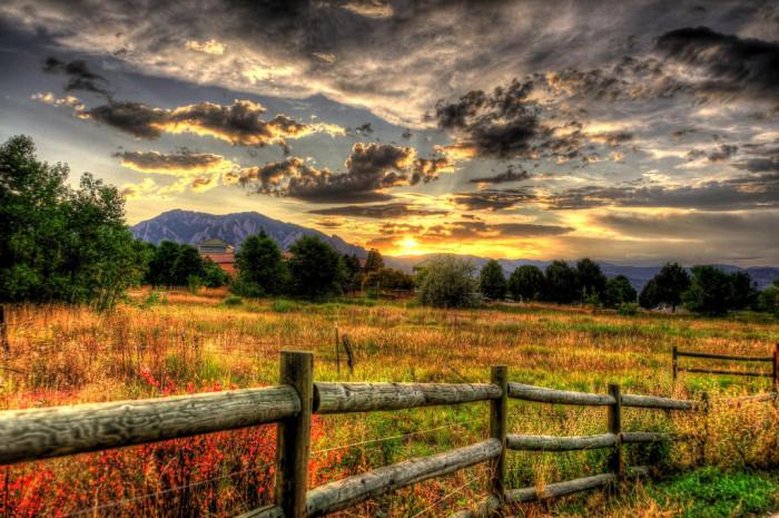 15.) Have a good evening, Colorado!