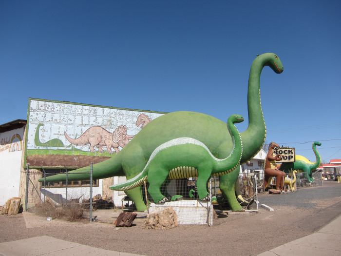 4. Dinosaurs in Holbrook