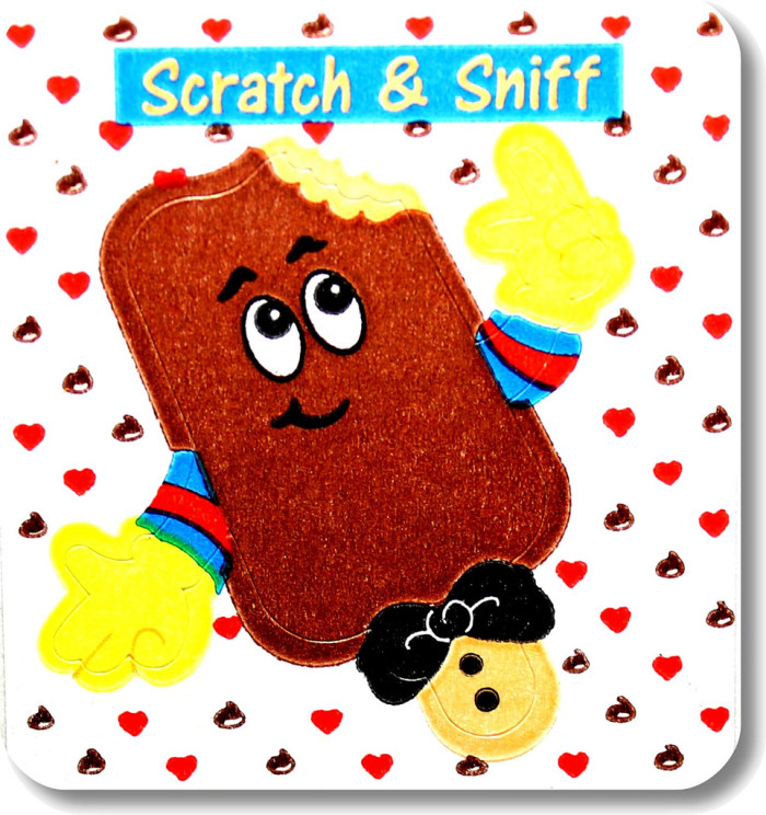 5. Scratch 'N' Sniff Stickers