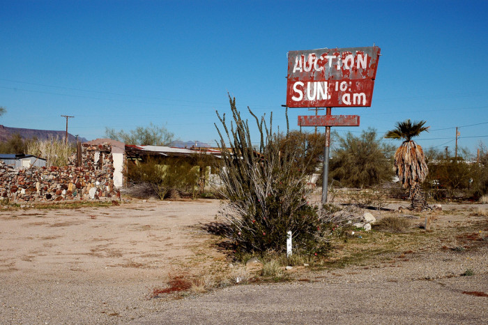 8. I suspect there aren't any auctions happening here this Sunday.