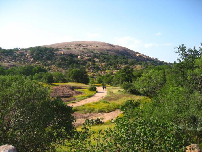 3) Enchanted Rock (Fredericksburg)