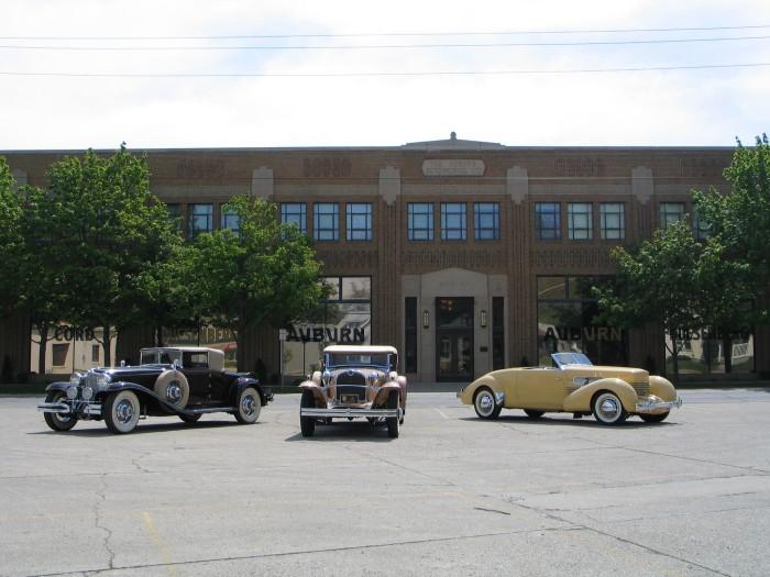 2. Auburn Cord Duesenberg Automobile Museum