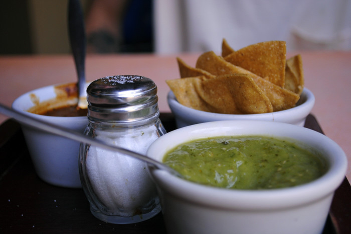 11. You also hold a serious opinion about the quality of a restaurant's salsa.
