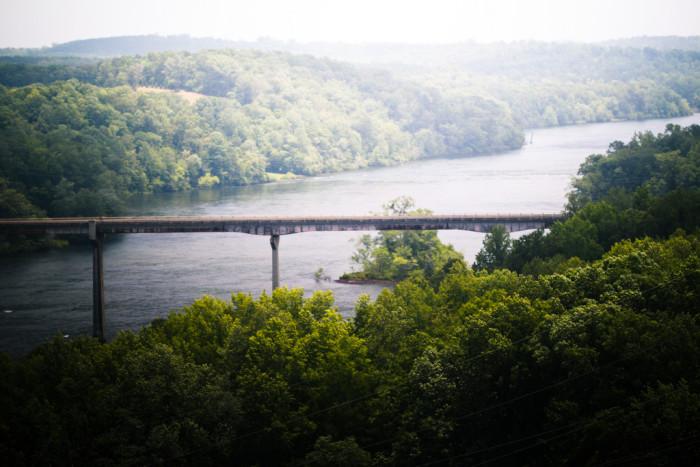 7) Lake Hartwell Dam
