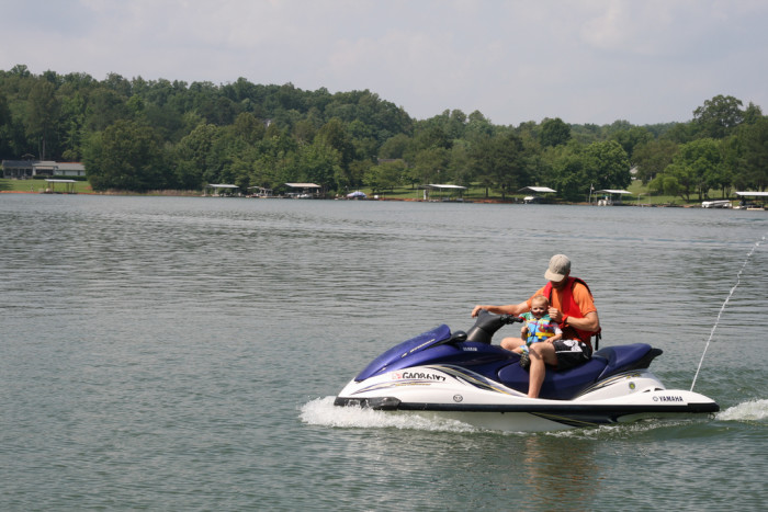 5) Take Your baby jet skiing!