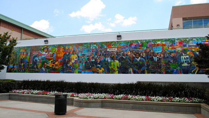 2) Visit the MLK Center