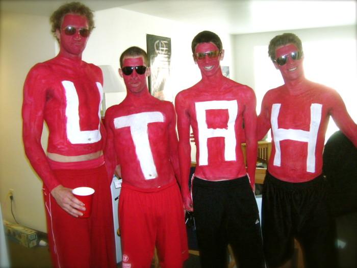 8) Rabid Utah College Sports Fan