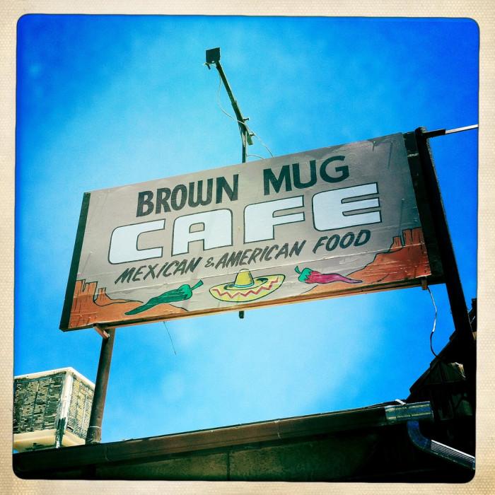 1. Brown Mug Cafe, Winslow
