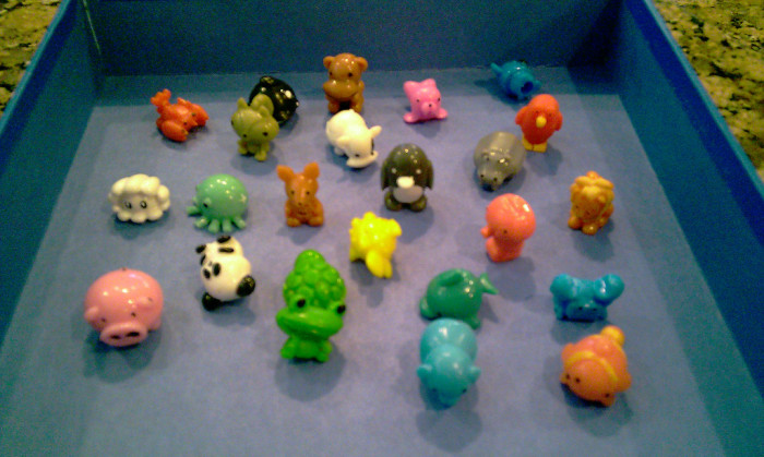 14. Pencil toppers! We traded them, shared them, and eventually lost them.