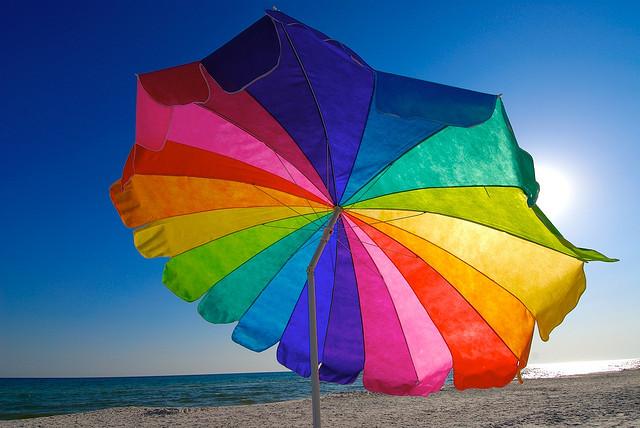 9. Rain or shine, an umbrella comes in handy.